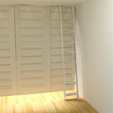 Dressing dans une chambre.Prévoir aussi un meuble pour cacher la télévision  Domozoom