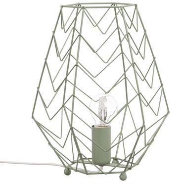 Lampe filaire vert kaki