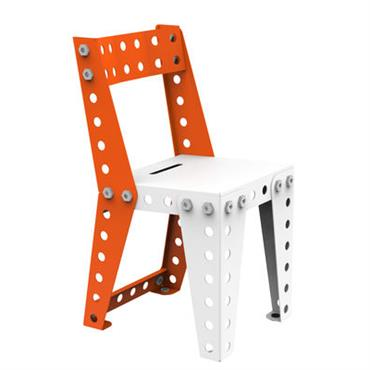 Chaise enfant - Meccano Home Blanc