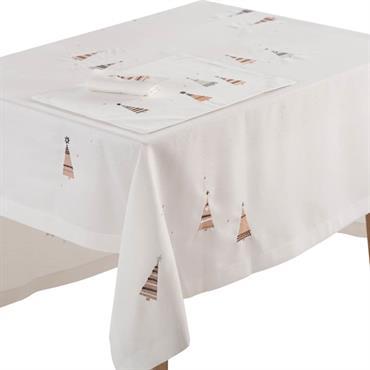 Nappe rectangulaire NOBILIS MULTICOLORE 170 x 170 cm