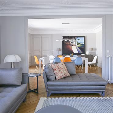 Le tapis est un élément essentiel de la décoration. Un tapis peut être l'élément central de la pièce et le ... Domozoom