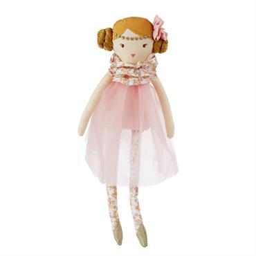 En voilà une mignonnerie ! Avec son tutu rose, la peluche poupée COLETTE deviendra la nouvelle meilleure amie de votre petite princesse. Rassurante et féerique, elle a tous les atouts ...
