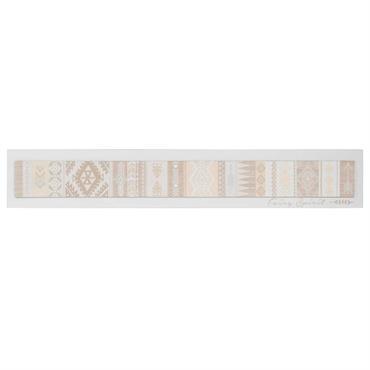 Toile imprimée ethnique 103x17cm FAIRY SPIRIT