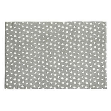Tapis en coton gris 120 x 180 cm STAR