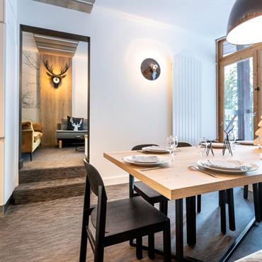 Rénovation complète d'un châlet - Architecture intérieure - Agencement - Aménagement - Séjour/Salon/Salle à manger
