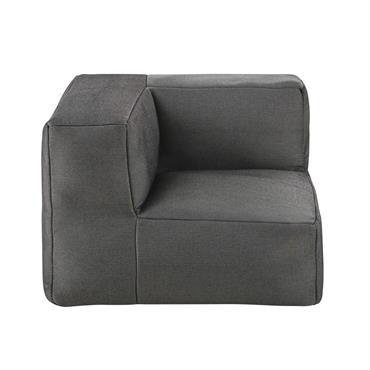 Composez votre canapé d'extérieur selon vos envies et vos besoins avec l'angle de canapé de jardin à billes en fibre oléfine gris anthracite FLEXY. Ses points forts ? Un garnissage ...
