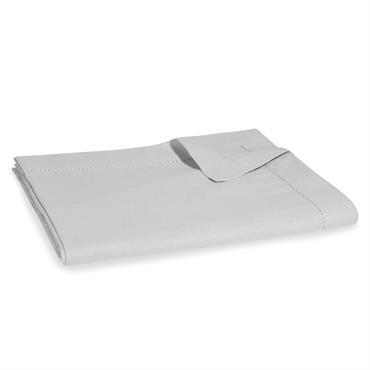 Nappe en coton gris 150x250cm OPALE