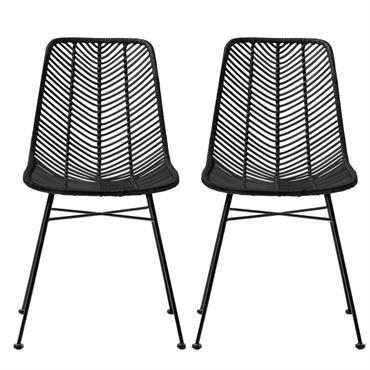 Les chaises en rotin Lena ont un design unique : leur structure sobre et leur matière pure sont autant de références directes au style scandinave que nous aimons tant, chez ...