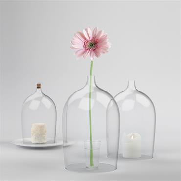 La Designerbox #23 : 'Nippy', une cloche en verre imaginée par Piergil Fourquié pour Designerbox. Disponible ici : http://bit.ly/1KMwHdh  Domozoom