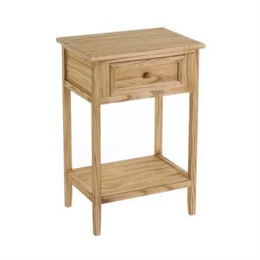 Table de chevet en bois 1 tiroir