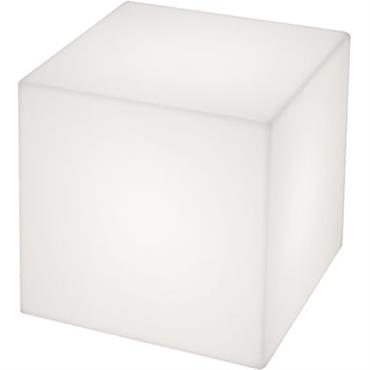 Table basse lumineuse Cubo LED RGB / 50 cm