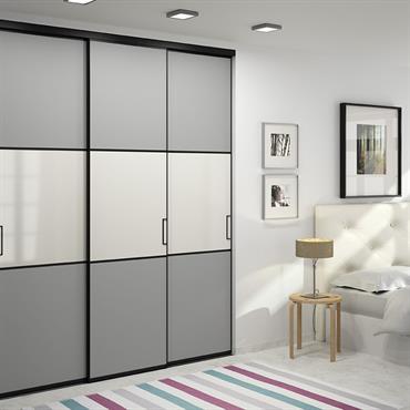 Porte de placard sur-mesure ajustées au millimètre et design personnalisé  Domozoom