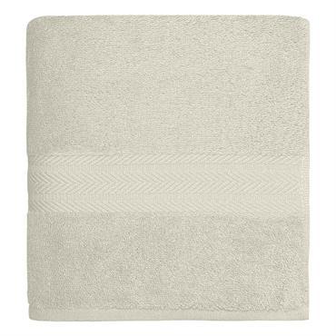 Maxi drap de bain 550gr/m²  Ecru 100x150 cm