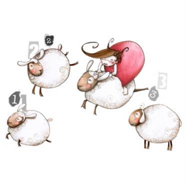 Saute mouton, ce stickers décoratif représente d´adorables petits moutons. Idéale pour accompagner vos enfants dans les plus jolis rêves. Acte Déco est heureux de présenter la nouvelle collection de stickers ...
