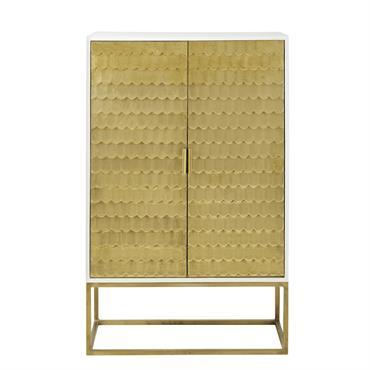 Cabinet de rangement 2 portes reliefs écailles Palpatine