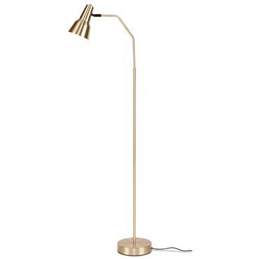 Lampadaire doré H144cm