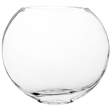 Vase boule en verre H18