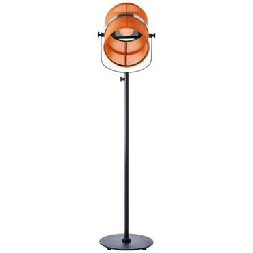 Lampadaire solaire La Lampe Paris LED / Sans fil - Maiori orange