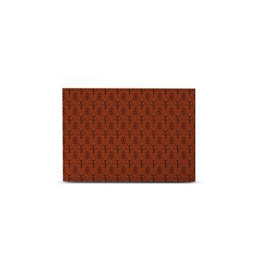 Tête de lit avec housse Ocre rouge 160 cm