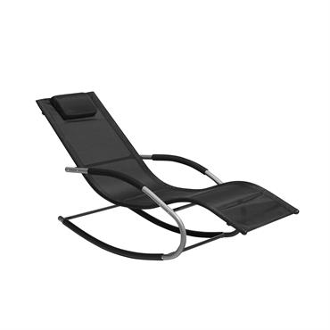 Bain de soleil à bascule noir au design moderne et ergonomique. Pour beaucoup, il n'y a rien de mieux que de trouver la détente en plein air dans votre propre ...