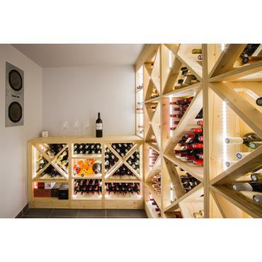 Cave à vin sur mesure  Domozoom