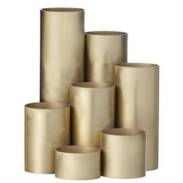 Pot à crayons Brass / 7 pots assemblés - Ferm Living laiton