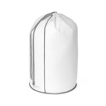 Sac à linge en polypropylène blanc