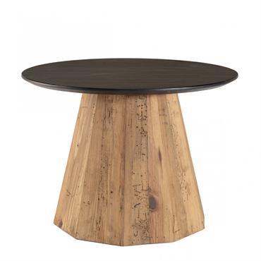 Table d'appoint ronde bois recyclé et contreplaqué. Dimensions :60 x 60 x 43 cm. Article enPin recyclé / contreplaqué. Cette jolie table d'appoint apportera du charme à votre intérieur. Elle ...