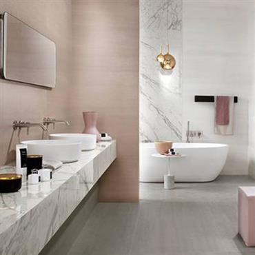 Le marbre redevient tendance, en voici la preuve réalisation d'une rénovation dans une maison contemporaine de clermont-frerand  Domozoom