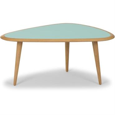 Petite table basse vert menthe Fifties - RED Edition