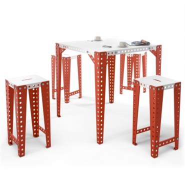 Tabouret de bar design MECCANO Home