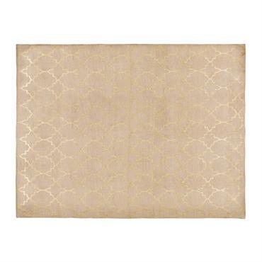 Tapis en coton motifs dorés 150x230cm NESTOR
