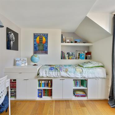 Petite chambre sur mesure