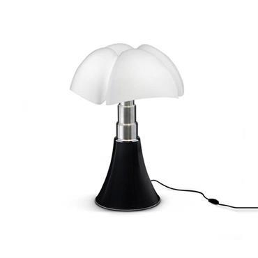 Lampe LED noire avec variateur H35cm