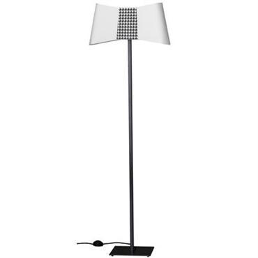 Lampadaire Grand Couture / H 154 cm - Designheure blanc
