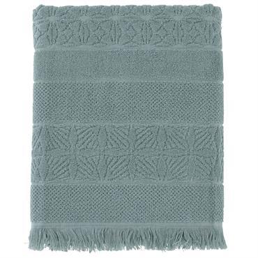 Réalisé en pur coton 450 g/m² fils retors, le drap de bain Chiara se distingue par sa légèreté, son pouvoir d'absorption et ses finitions soignées. Ses bandes graphiques dessinées dans ...