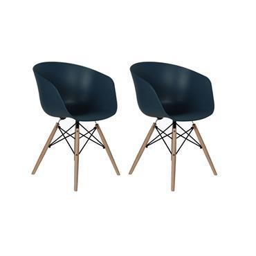 Lot de 2 chaises s RAY