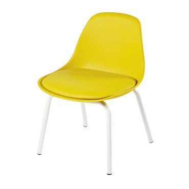 Chaise vintage enfant jaune Piccoli