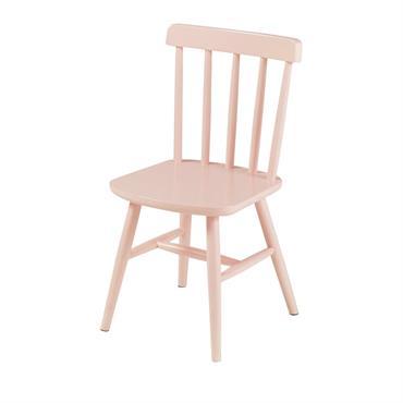 La chaise vintage enfant en hêtre rose clair FJORD sublimera en un clin d'il la chambre de votre fille. Grâce à sa structure et ses pieds en hêtre, elle promet ...