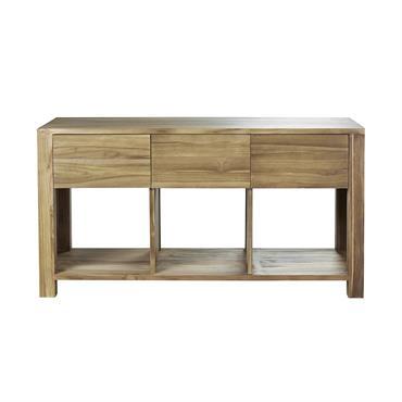 Un classique du genre ! Ce meuble de salle de bain est conçu en Teck Brut, idéalement adapté pour les pièces humides grâce à ses caractéristiques particulières. Ce meuble sous ...