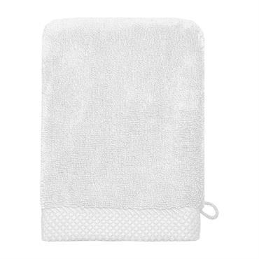 Lot de 3 gants de toilette 560gr/m² Blanc 16x22 cm