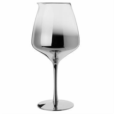 Carafe à décanter en verre teinté gris 1