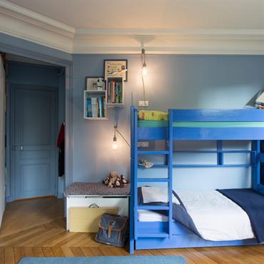 Rénovation d'un appartement de 140m², Paris, Conception et maîtrise d'ouvrage  Domozoom