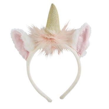 Votre petite tête blonde adore se déguiser ? Réalisez son rêve le plus fou : devenir une licorne ! Comment ? Grâce au serre-tête licorne LILLY , aussi féerique que ...