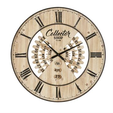 Horloge avec calendrier perpétuel bicolore D90