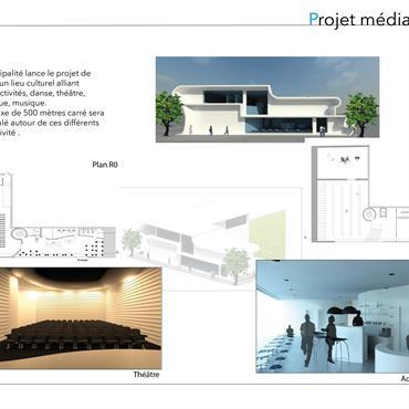 Projet de réalisation d'un centre culturel  Domozoom
