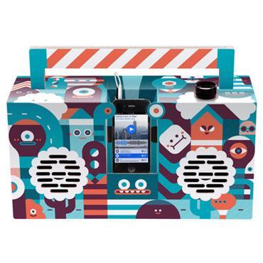 Enceinte nomade Berlin Boombox Artist Edition by LouLou & Tummie