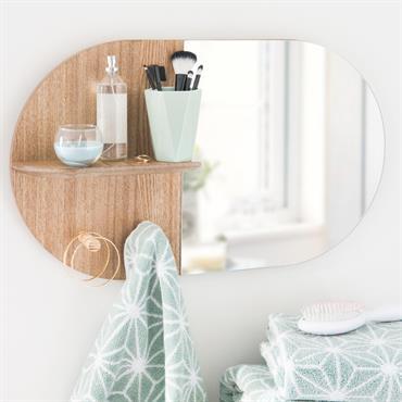 Miroir étagère 35x59cm ABERDEEN