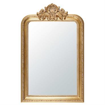 Avec le miroir à moulures dorées 77x120 ALTESSE , le doré s'invite par petites touches pour illuminer nos intérieurs avec élégance. Inspiré du style classique chic, ce miroir en résine ...
