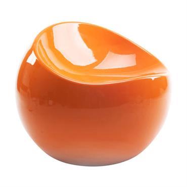 Pouf enfant Baby ball chair / En exclusivité - XL Boom orange